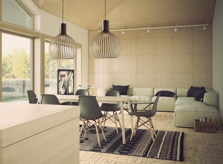 Spotlicht Auf Modernes Esszimmer Interieur Ideen Und Tipps