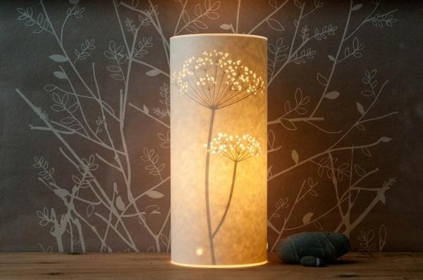 Trendige Deko Ideen Papierlampe Schafft Romantische