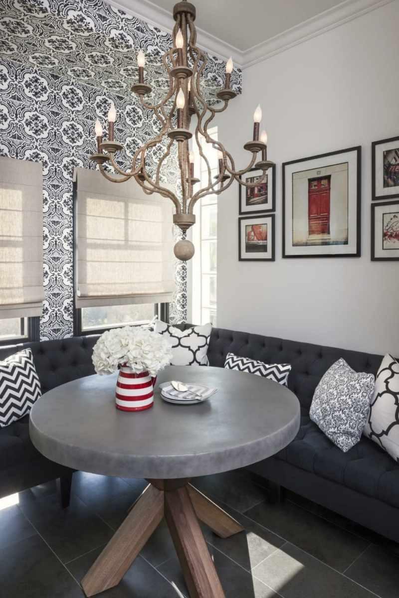 booth table for kitchen average cost of small remodel einrichtungsideen für sitzecke in der küche-platzsparend ...