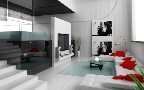 38 ideen fur weisses wohnzimmer