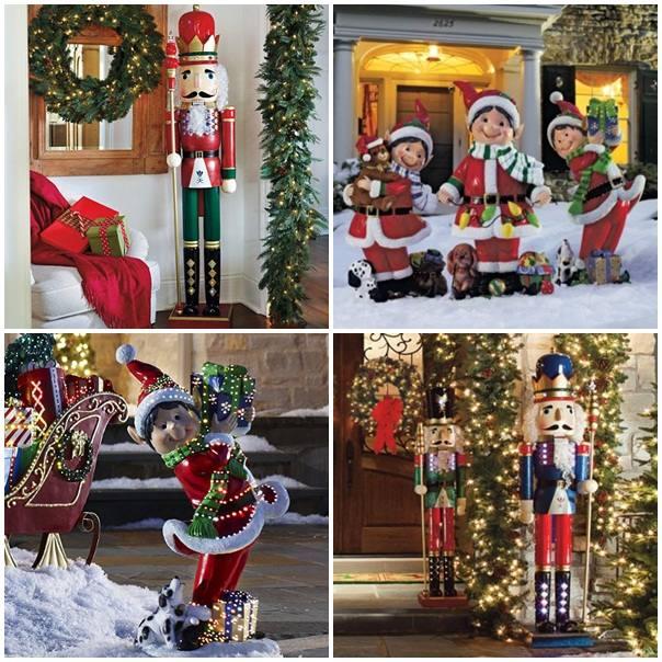 weihnachtsdekoration aussen xxl  die beste diy weihnachtsdeko