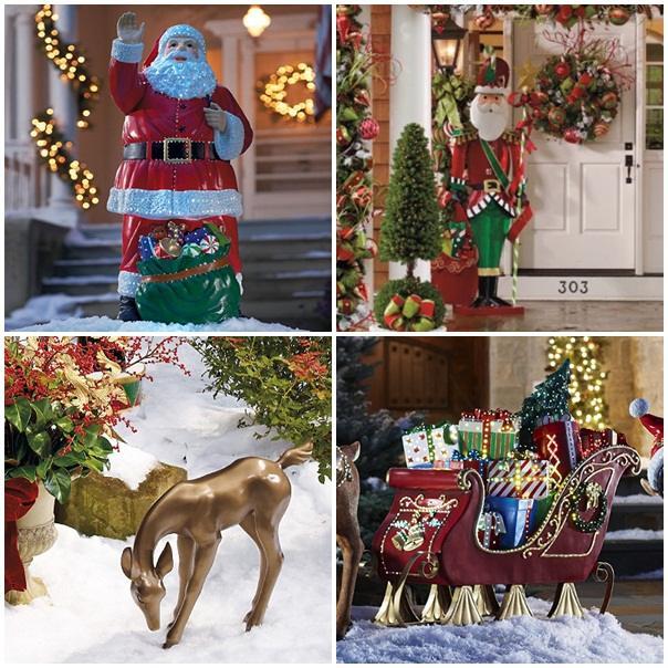 Weihnachtsdeko fr Auen  46 Ideen fr weihnachtliche