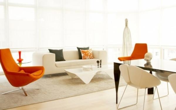 39 weie Wohnzimmer Wohnideen fr modernes Haus