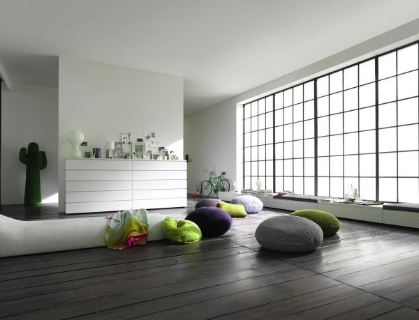 Wohnzimmer Gestaltung  Ideen fr puristische Innenarchitektur