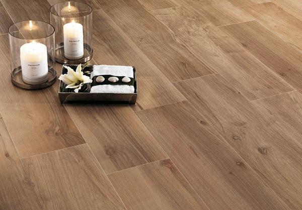 Fliesen in Holz Optik  Ideen fr stilvollen Bodenbelag