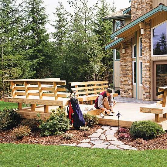 terrassen gelander design | haus design ideen, Terrassen ideen