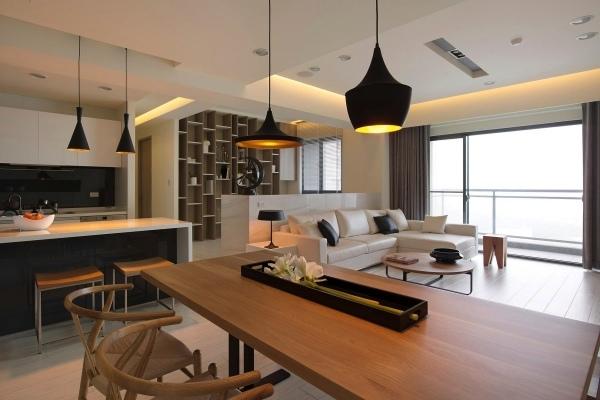 Offene Wohnung einrichten  Ideen von Fertility Design