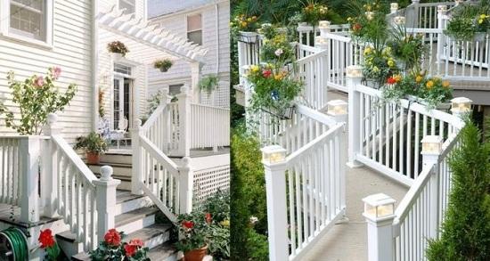 deck with pergola and patio - boisholz