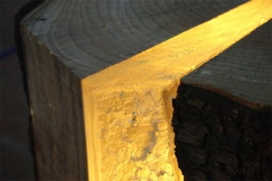 Umweltfreundliche Designer Lampen aus Holz Resten  Wohnideen Magazin