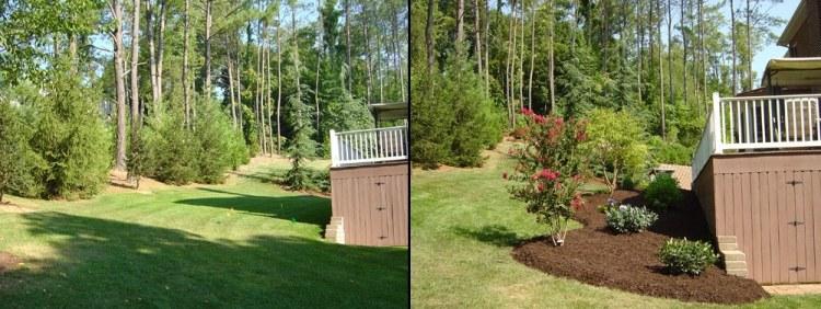Gestaltungsideen fr Terrasse und Garten  VorherNachher