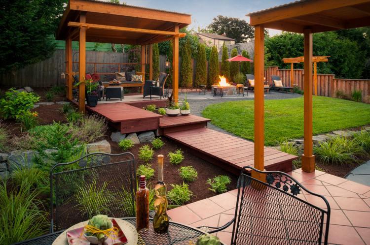 20 Interessante Ideen Für Holzdeck Und Terrasse In Ihrem Garten