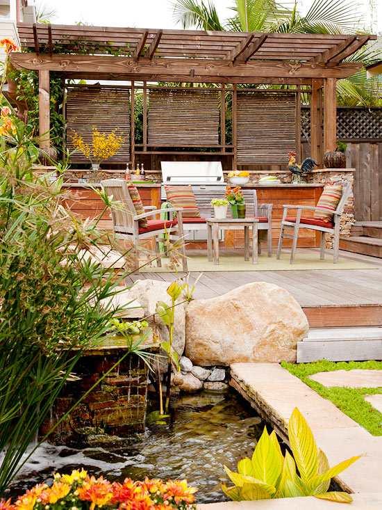 teich terrasse bauen gestaltungstipps fur die perfekte terrasse im, Terrassen deko