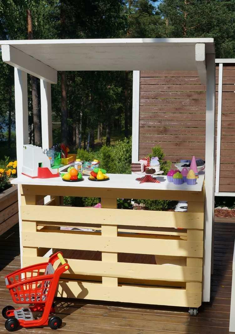 Garten Kuche Aus Europaletten Terrasse Aus Paletten Selber Bauen