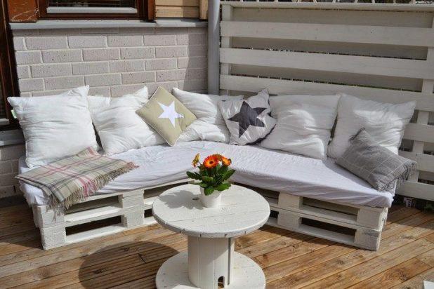 paletten sofa polster selber machen. Black Bedroom Furniture Sets. Home Design Ideas