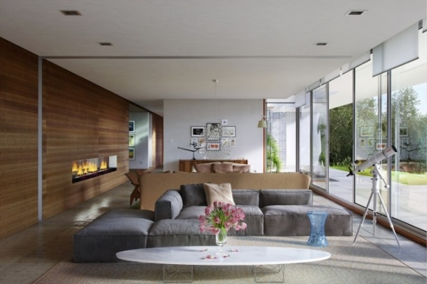 wohnideen wohnzimmer grau braun – usblife