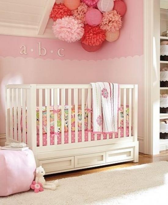 Babyzimmer Dekorieren  38 Ideen Mit Papierlaternen Und