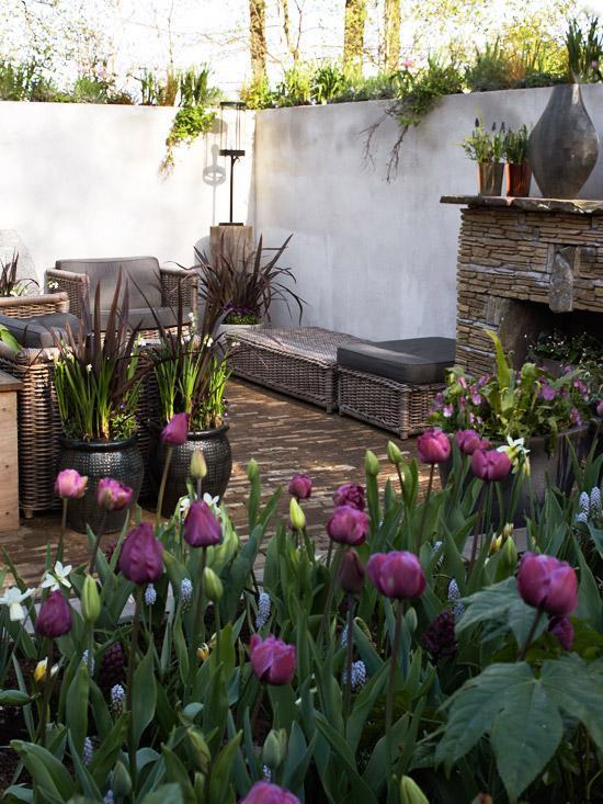 gartengestaltung pflege andschaftsbau blumen fur den garten tulpen,