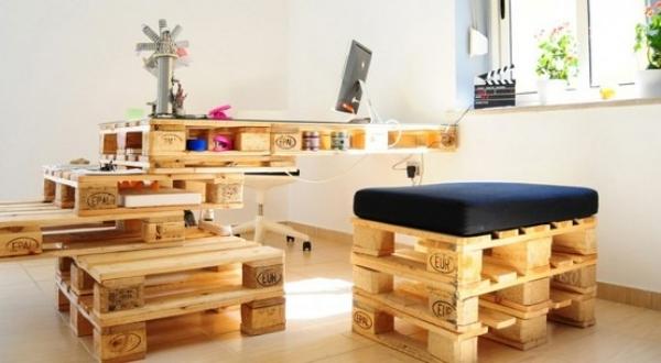 60 Wohnideen mit Europaletten  Palettenmbel selber bauen