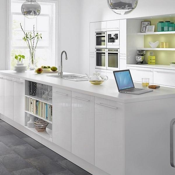 Weiße Küche Schwarze Arbeitsplatte Welche Wandfarbe   7200 ...