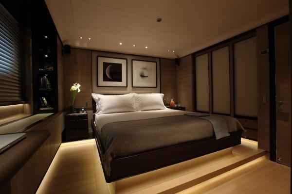 Yacht Schlafzimmer