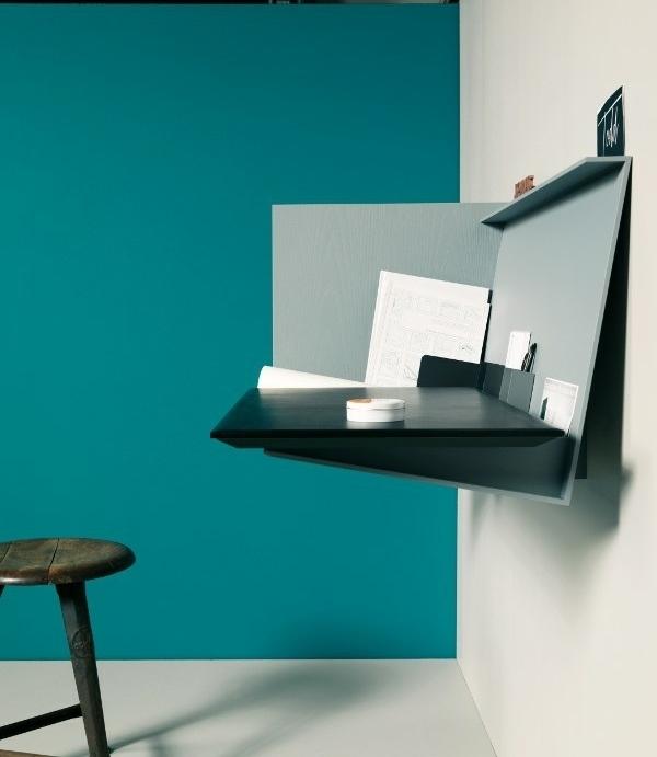 5 moderne und kompakte Schreibtische Designs fr kleine Zimmer