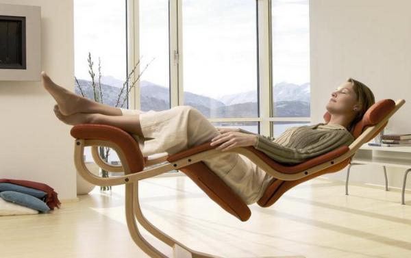 Designer Relaxsessel mit innovativem Design Gravity