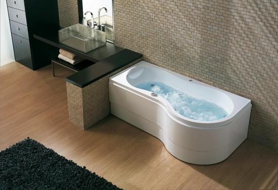 Whirlpool Badewannen von BluBleu zeigen Eleganz und zeitloses Design