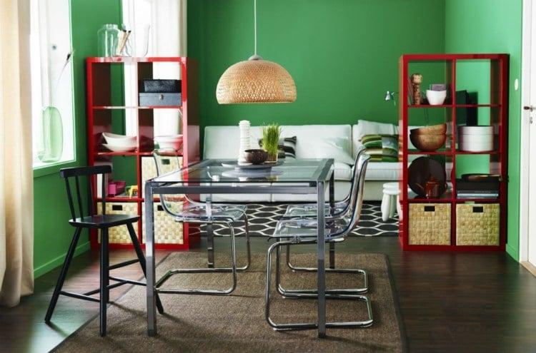 Wohntrends 2013  trendige Wandfarbe und Wohndeko in