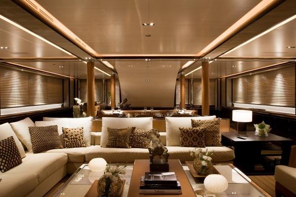 Die exklusiven Luxus Yachten von dem InterieurDesigner