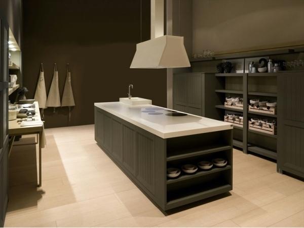 Schön Moderne Küche Aus Holzfurnier Natura Von Castagna Cucine, Kuchen Deko