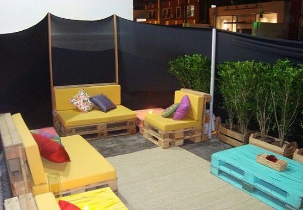 mobel aus europaletten balkon terrasse | möbelideen - Mobel Fur Balkon 52 Ideen Wohnstil