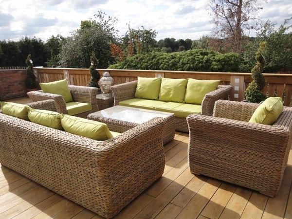 Rattan Gartenmöbel Und Lounge Sets – Trend Bei Der Garteneinrichtung