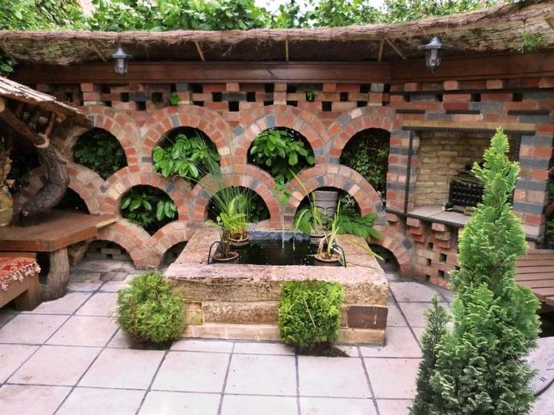 Gartengestaltung Pflege Landschaftsbau Steinmauer Im Garten Bauen L