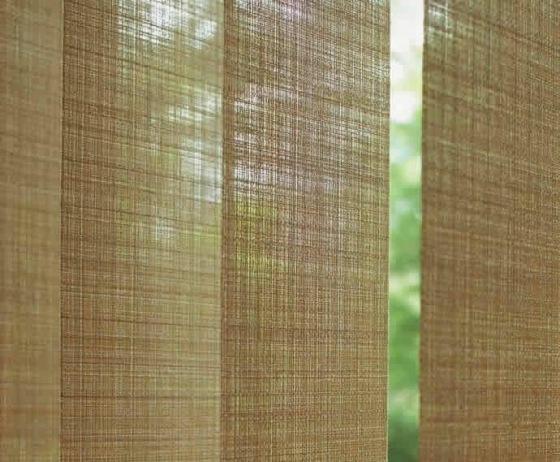 Vertikal Jalousien und Lamellenvorhnge  ein effektiver Sonnenschutz