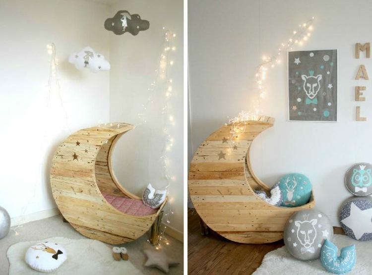 babywiege selber bauen | balcon, Schlafzimmer