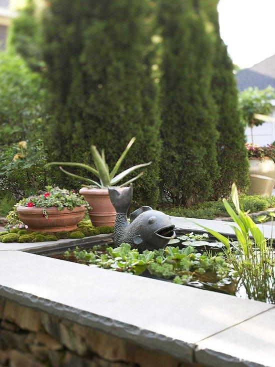 sichtschutz fuer garten schirmen sie mit blumen und pflanzen ab, Garten und erstellen