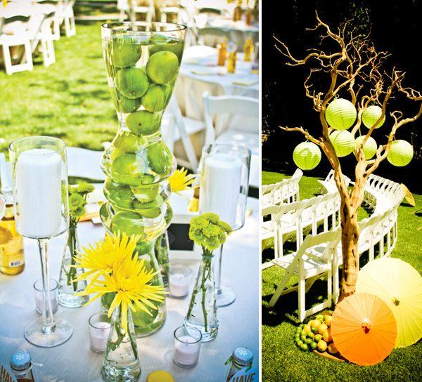Ideen zur Hochzeit in Gelb fr sonnige Stimmung