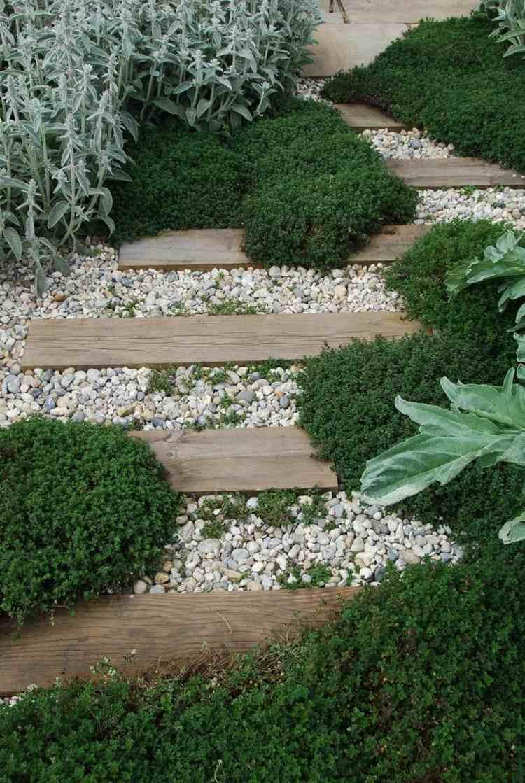 s gartengestaltung pflege landschaftsbau gartenweg aus holz diy, Garten dekoo