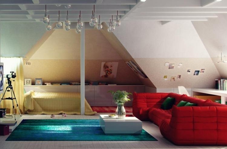 28 Einrichtungsideen fr Kinderzimmer mit Dachschrge