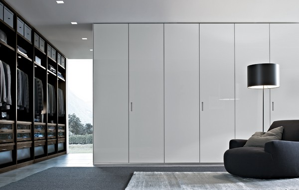 Einrichtungsideen fr Schlafzimmer aus Italien  Kleiderschrank Design