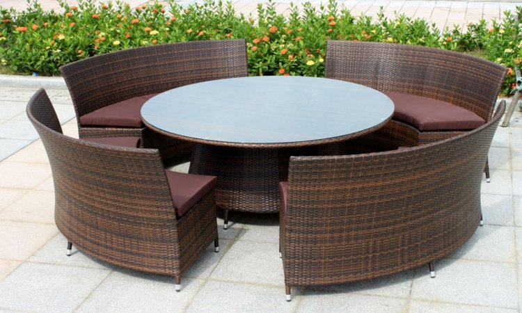 Rattan Gartenmbel und Lounge Sets  Trend bei der