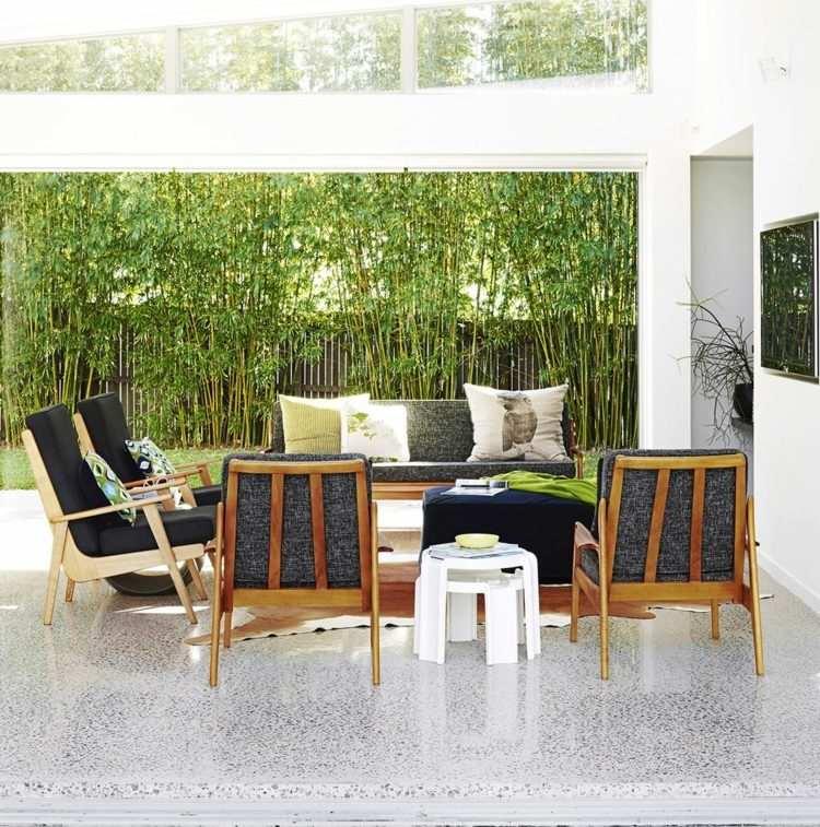 moderner sichtschutz fur die terrasse sichtschutz fur garten, Garten und erstellen
