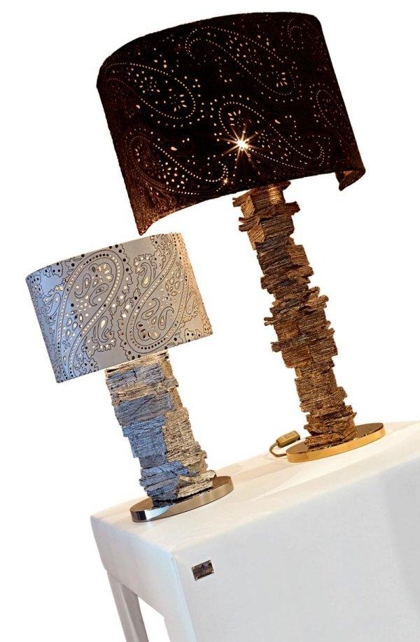 Italienische Designer Stehleuchten  Schicke Lampenschirme