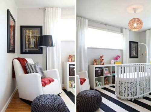 20 Ideen Für Moderne Babyzimmer Möbel, Deko Und Komplette