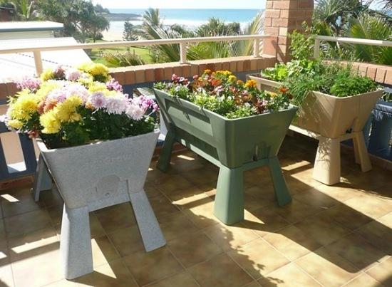 Gartengestaltung Pflege Balkon Vertikale Begrunung Balkon ... Vertikale Begrunung Balkon Sichtschutz