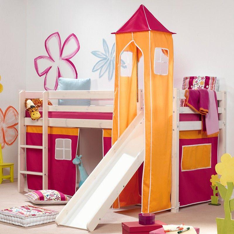 hochbett mit rutsche einrichtungsideen fuer kinderzimmer | moregs - Einrichtungsideen Fur Kinderzimmer