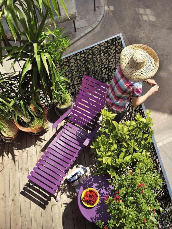 balkon mit holzfliesen und sichtschutz garten und balkon pinterest, Gartengerate ideen