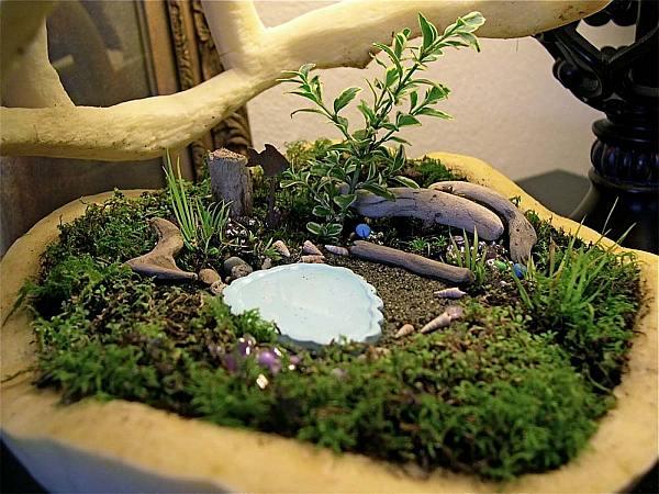 sichtschutz pflanzkubel auf dem balkon und kies - sichtschutz, Gartengerate ideen