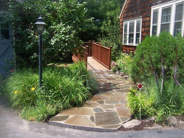 gartenwege gestalten naturstein reimplica garten und bauen, Gartenarbeit ideen
