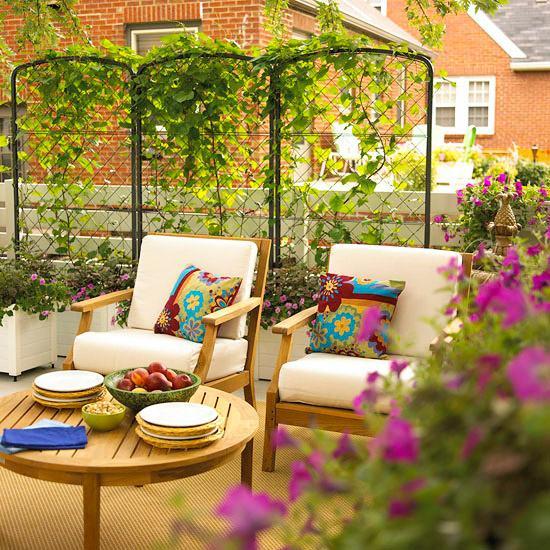 S Gartengestaltung Pflege Terrassen Sichtschutz Im Garten Holz L